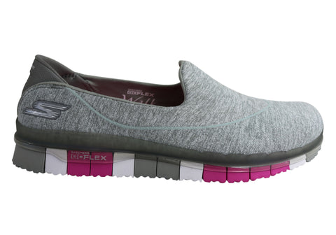 b1b285a61339 Skechers Go Flex Walk Flexible Womens Slip On Shoes
