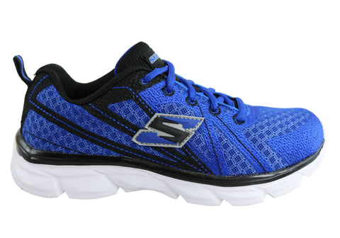 Skechers Advance Boys Kids Light Weight Running Sport Shoes