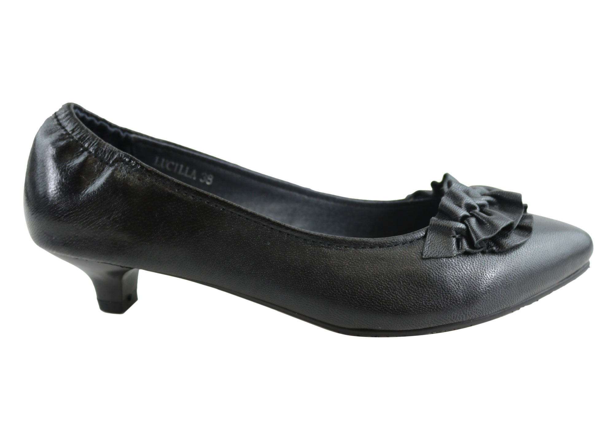 NEW-BIRTHMARK-LUCILLA-WOMENS-LEATHER-COMFORTABLE-LOW-HEEL-SHOES