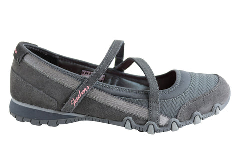 Skechers Bikers Ardmore Womens Relaxed Fit Casual Shoes