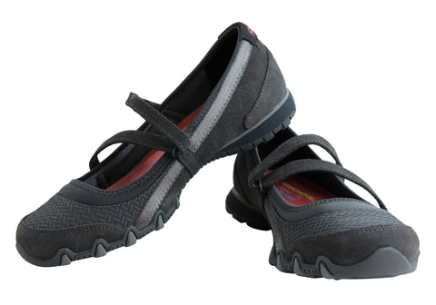 Skechers Bikers Ardmore Womens Relaxed Fit Casual Shoes  9c98b85e6
