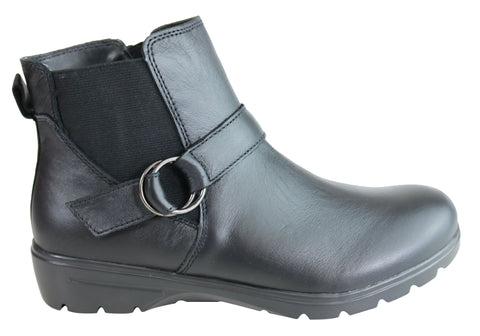 Skechers Womens Metronome Restless Memory Foam Comfortable Ankle Boots