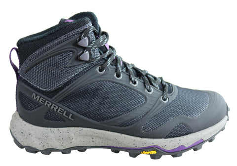 Merrell Womens Altalight Knit Mid Comfortable Hiking Shoes