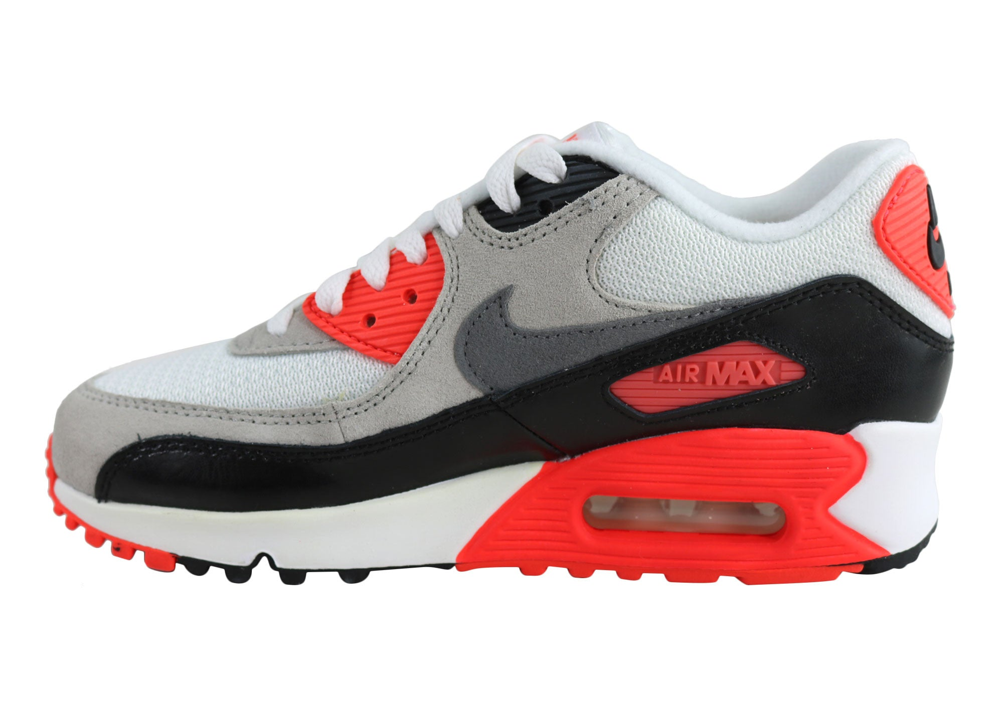 huge discount 611ec 6957b Nike Air Max 90 Premium Mesh (Gs) Older Kids Shoes - KidsShoes