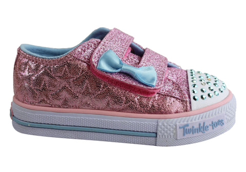 Skechers S Lights Shuffles Starlight Style Toddlers Shoes