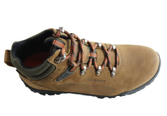 Bradok Zion M Mens Comfortable Leather Hiking Boots Made In Brazil