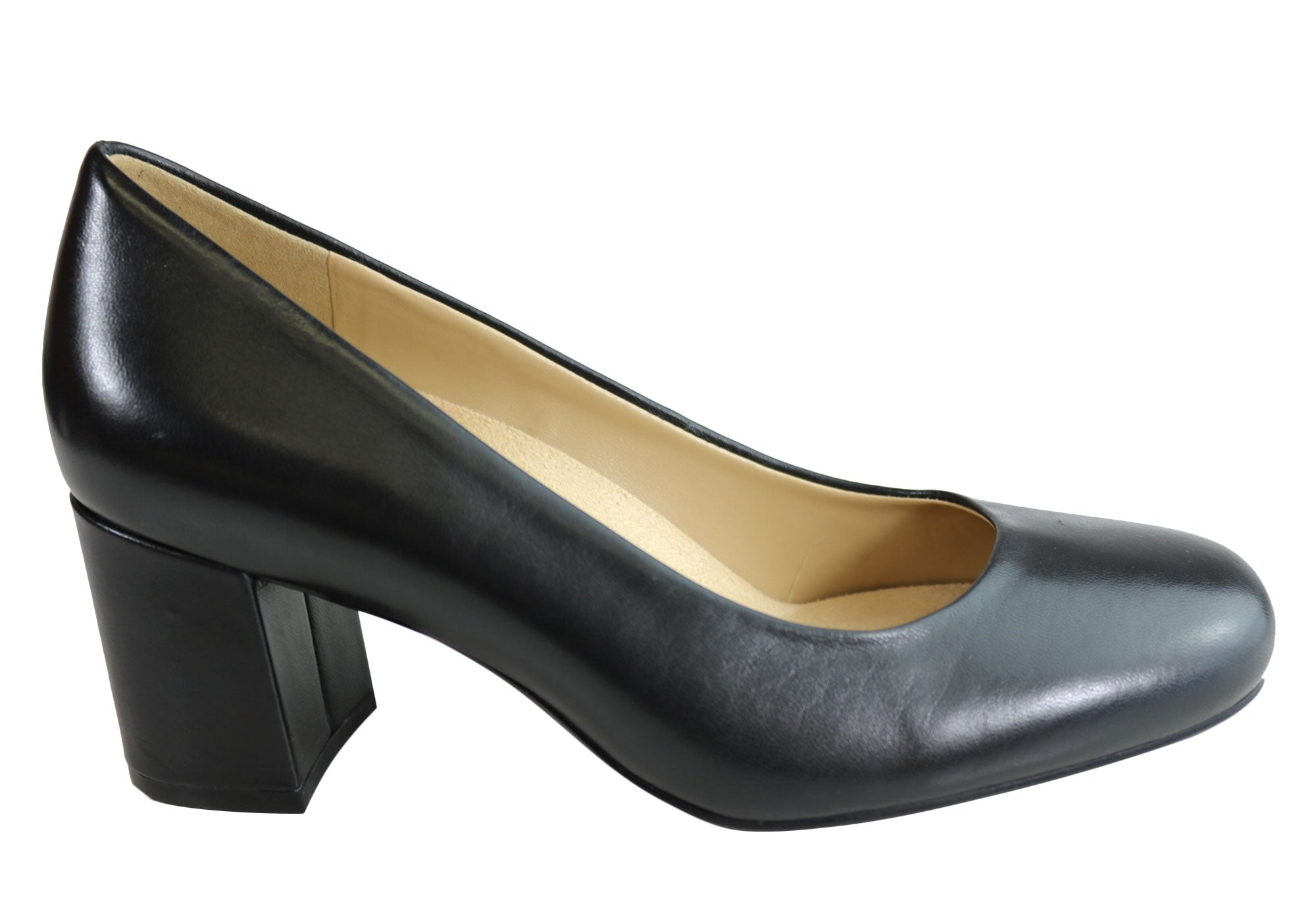 aa365c2da Home Naturalizer Whitney Womens Comfortable Leather Mid Heel Pumps. Black; Black  Patent ...