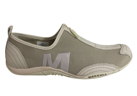 Merrell Barrado Womens Comfortable Flat Casual Zip Shoes