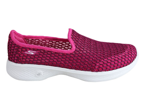 Skechers Womens Go Walk 4 Comfortable Lightweight Casual Shoes