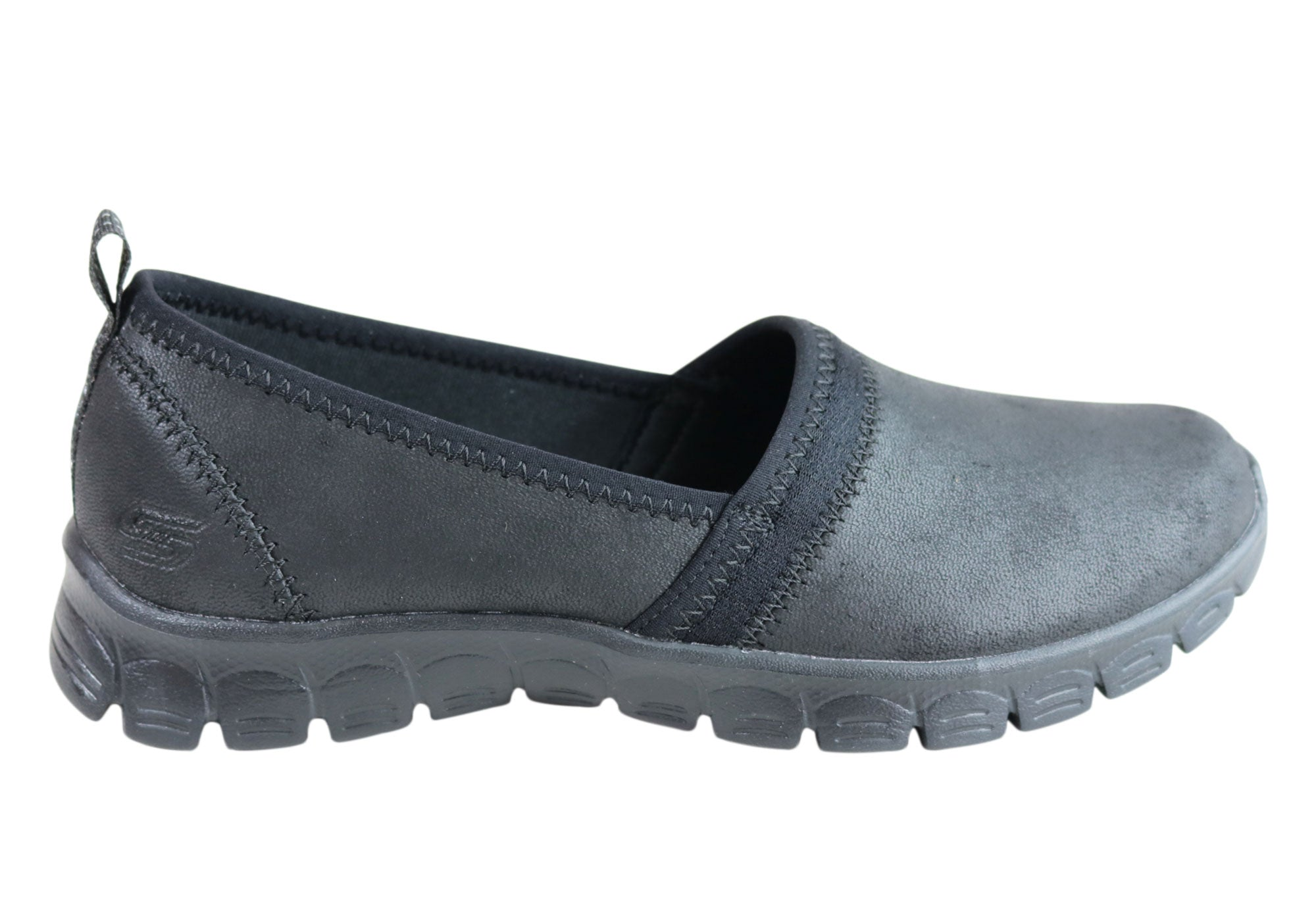 buy popular 6757c ce322 Skechers Womens Ez Flex 3.0 Songful Memory Foam Slip On Casual Shoes