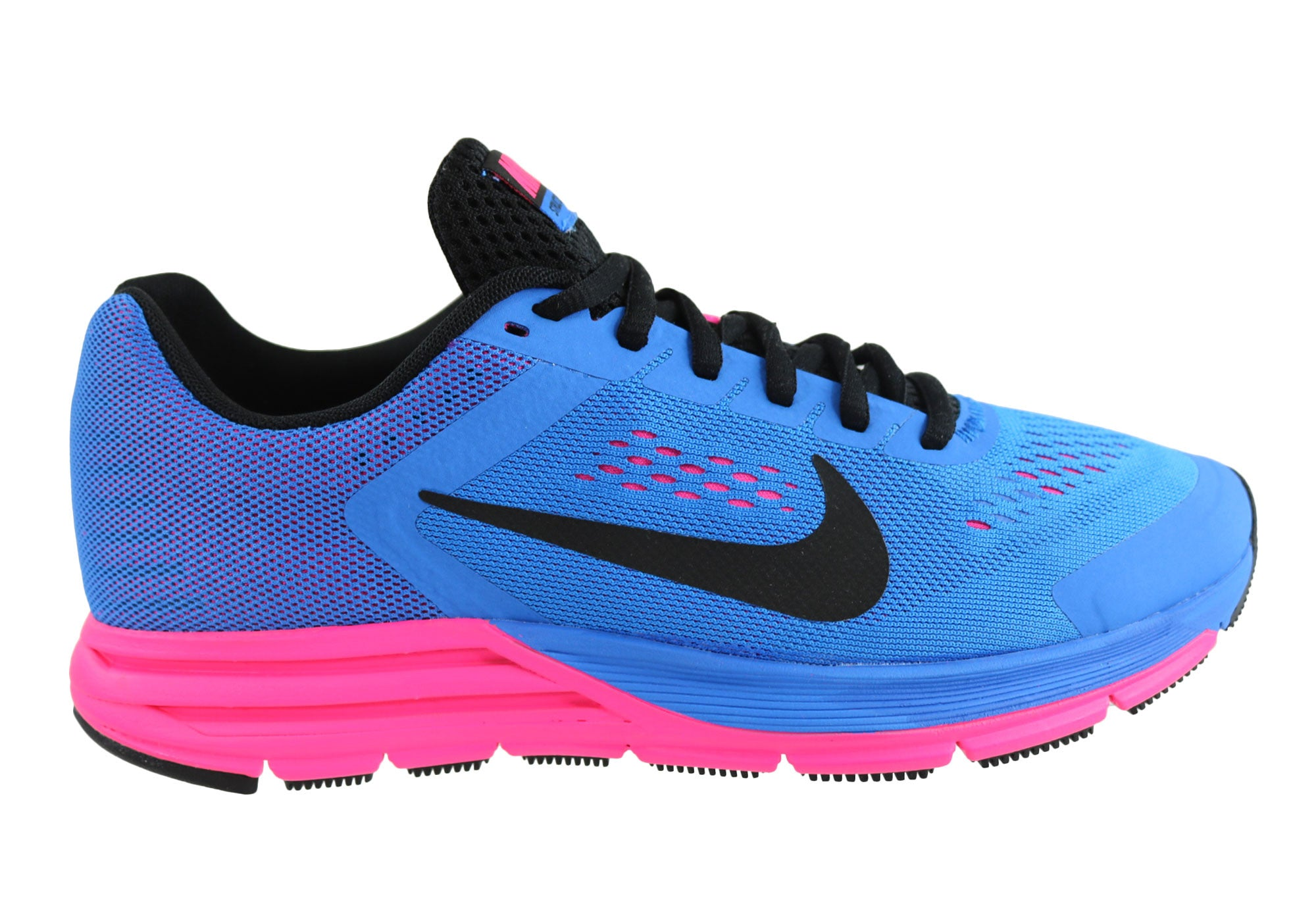Descenso repentino Respectivamente Fundación  Nike Zoom Structure+ 17 Womens Comfortable Running Shoes | Brand House  Direct