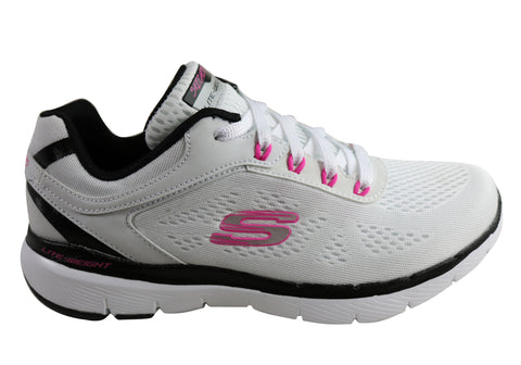 Skechers Flex Appeal 3.0 Steady Move Womens Memory Foam Athletic Shoes