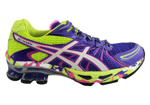 Asics Gel-Sendai Womens Premium Cushioned Sport Running Shoes