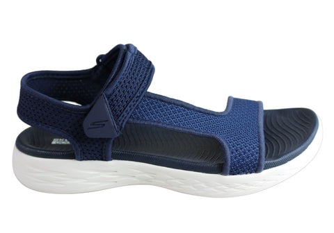 Skechers Womens On The Go 600 Rubix Comfortable Cushioned Sandals