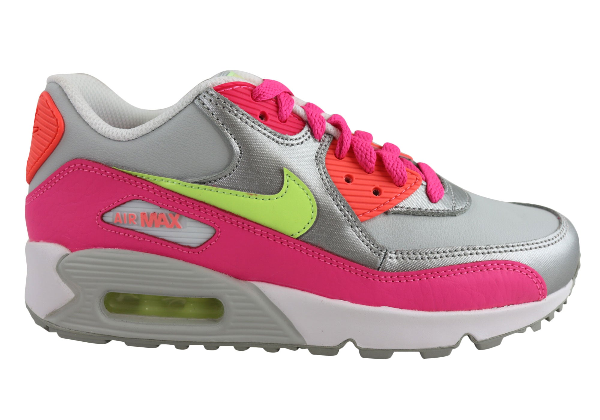 free shipping 254ee 1b574 NEW NIKE AIR MAX 90 LTR (GS) OLDER KIDS GIRLS SPORT SHOES