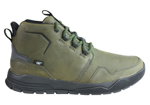 Caterpillar Stiles Mens Durable Lace Up Leather Comfort Casual Boots