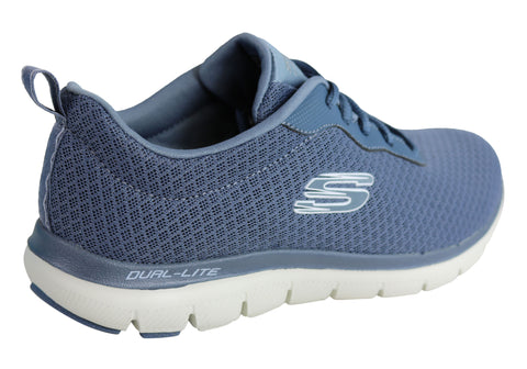 Details about Brand New Skechers Womens Flex Appeal 2.0 Newsmaker Memory Foam Athletic Shoes