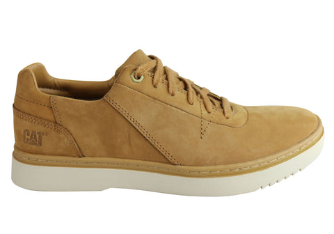 Caterpillar Naselle Mens Lace Up Comfortable Leather Casual Shoes
