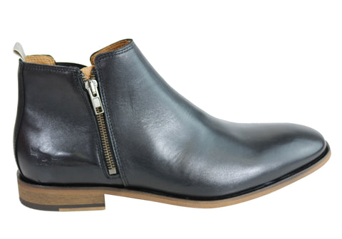 Wild Rhino Belmont Mens Leather Dress Boots Made In Portugal