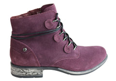 Earth Boone Womens Memory Foam Cushioned Suede Comfortable Ankle Boots