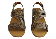 Gino Ventori Spartan Womens Comfortable Leather Sandals Made In Brazil