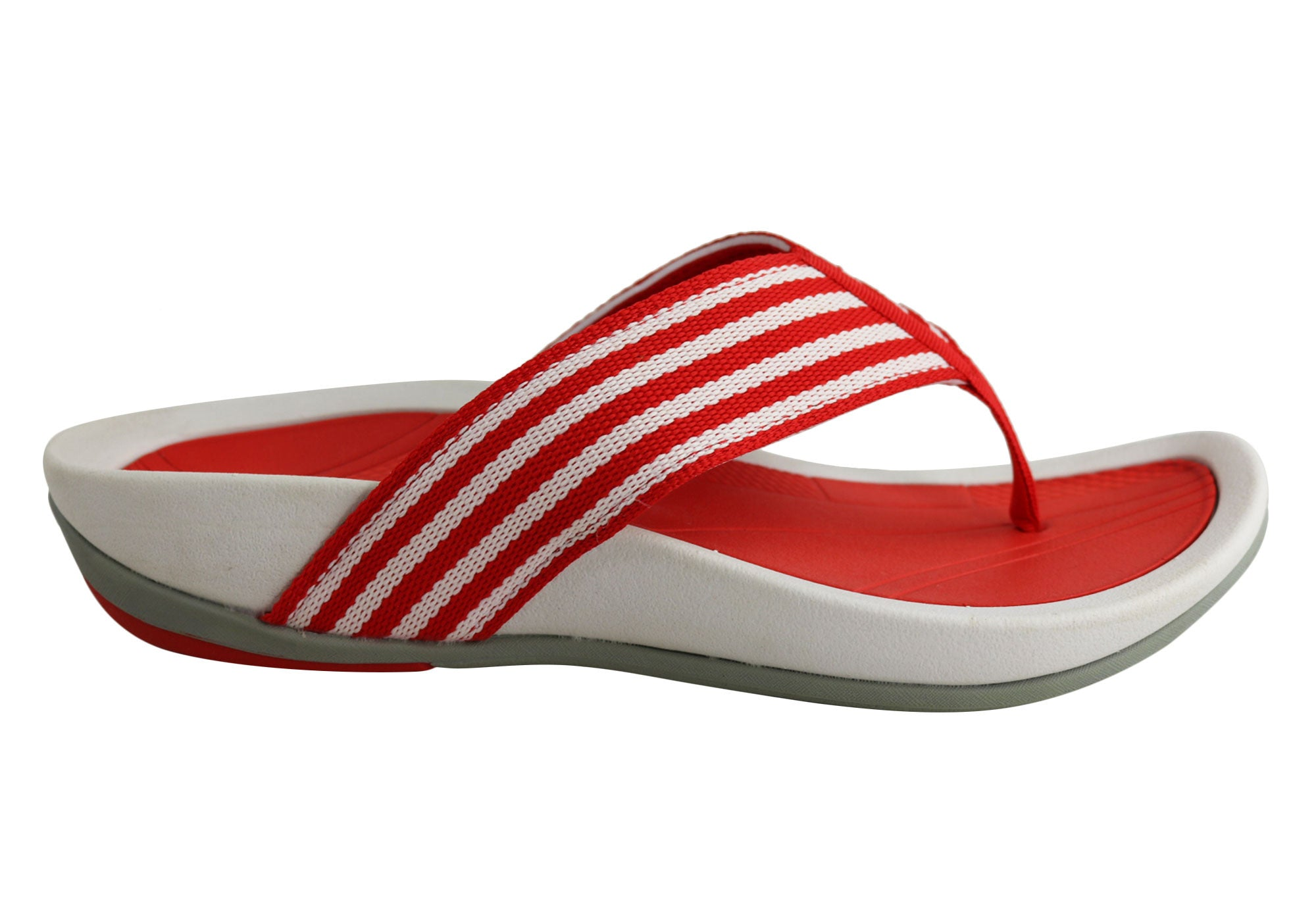 ee4a1cdebcfa Scholl Orthaheel Strike Womens Comfortable Thongs