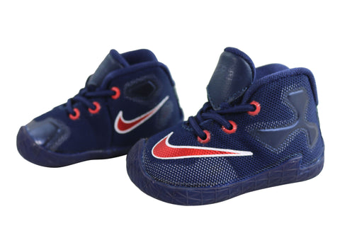 new style 6fcf0 35563 Nike Lebron XIII Toddler Baby Boys Comfortable Soft Sole Shoes