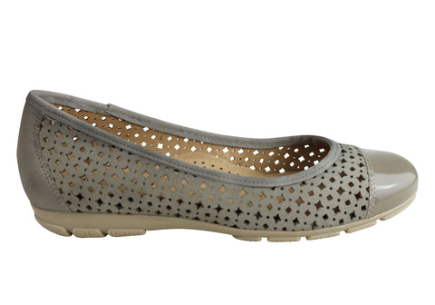 Gino Ventori Nostalgia Womens Comfortable Leather Flats Made In Brazil