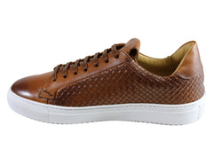 Savelli Turbine Mens Leather Lace Up Casual Shoes Made In Brazil