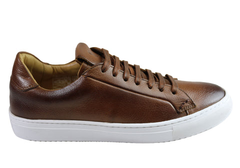 Savelli Gill Mens Comfort Leather Lace Up Casual Shoes Made In Brazil