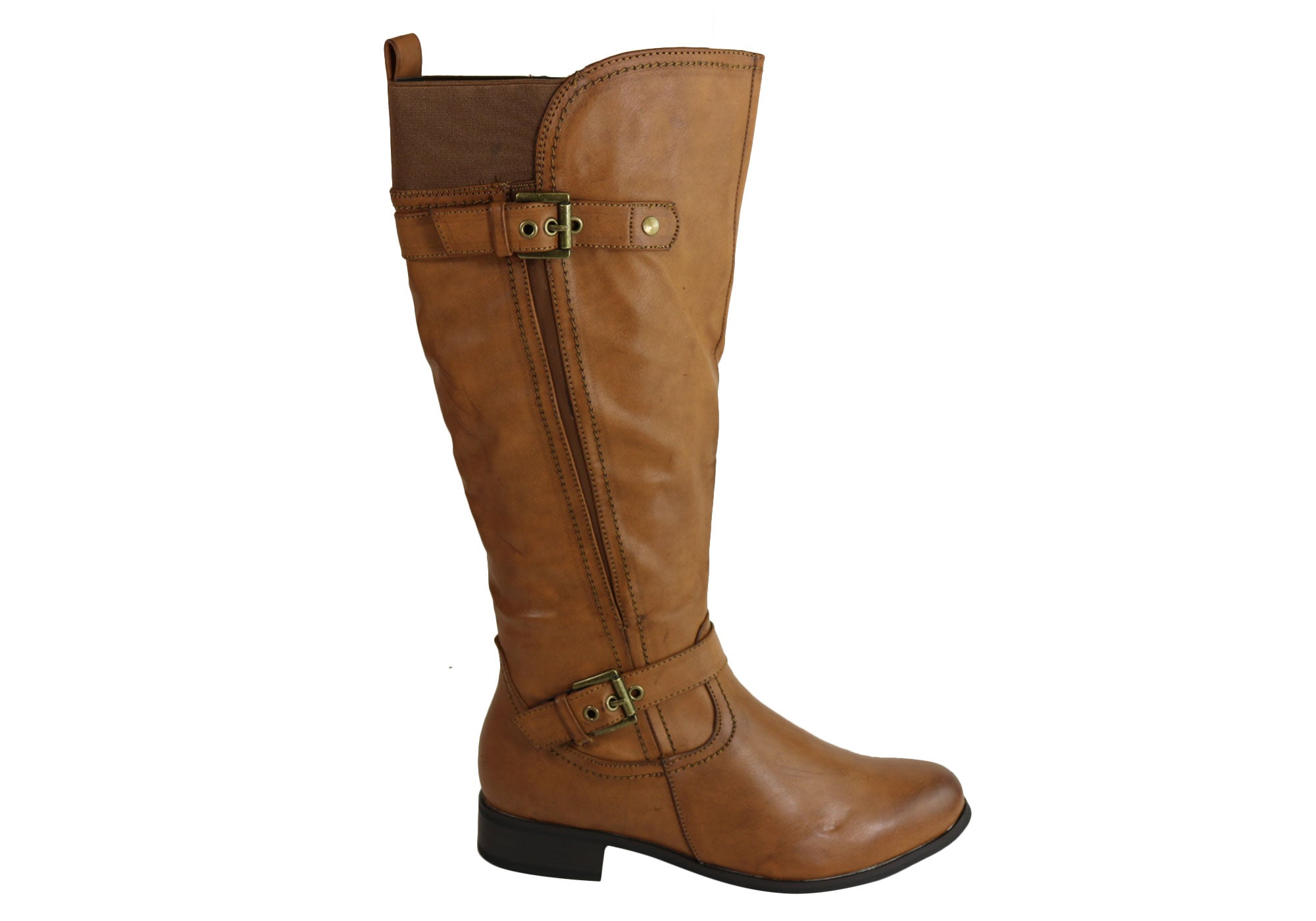 pu color strap select prod p knee calf s buckle kitten moda high top boots mid src com women comforter leather comfortable