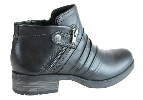 c71a2df27b0 Planet Shoes Marie Womens Leather Comfy Ankle Boots With Arch Support