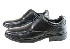 Savelli Hugo Mens Comfort Lace Up Leather Dress Shoes Made In Brazil