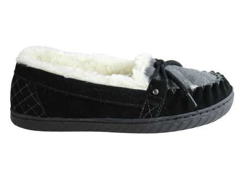 Planet Shoes Zeva Womens Comfortable Indoor Slippers With Support
