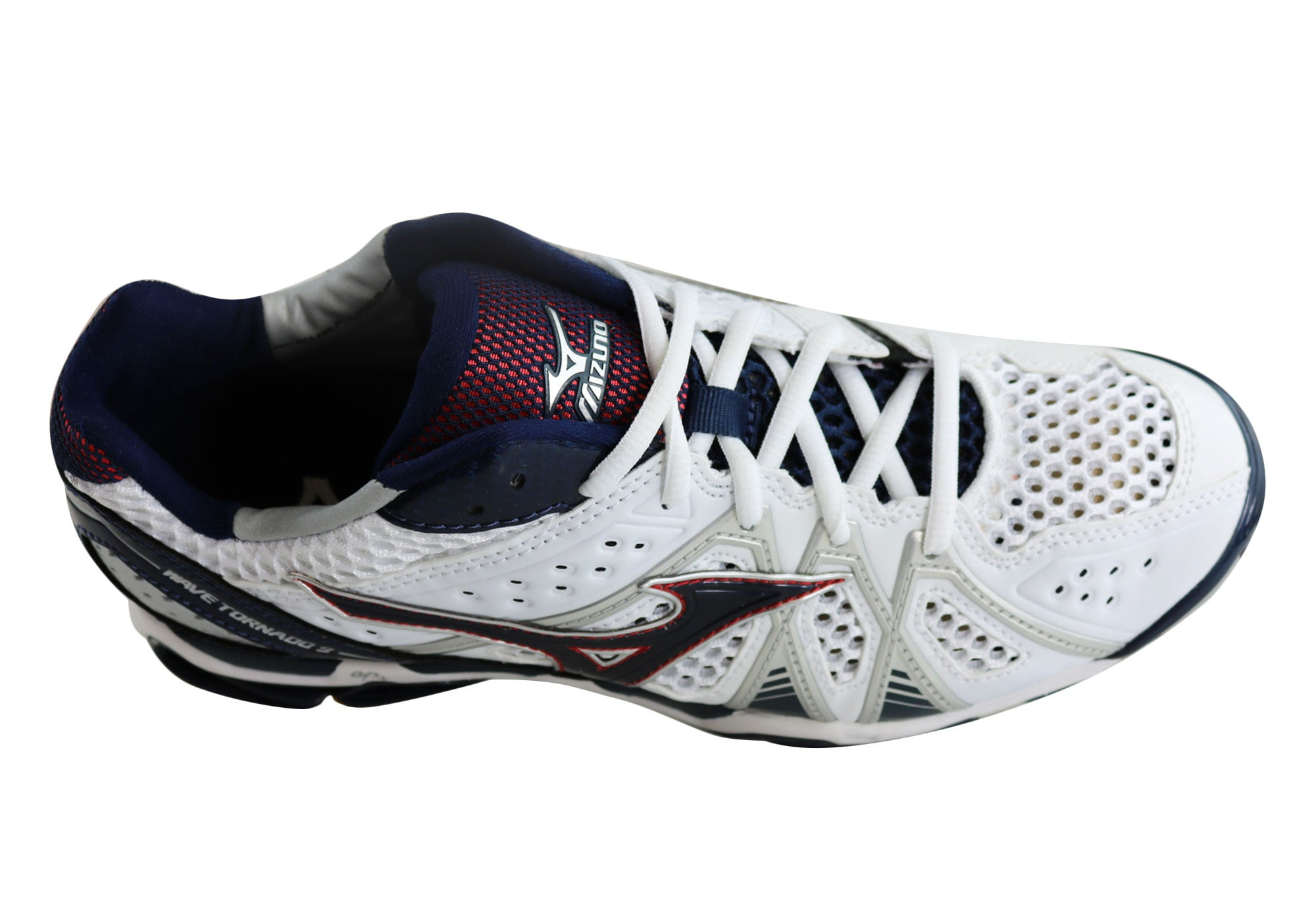 mizuno womens volleyball shoes size 8 x 1 nm knee vent
