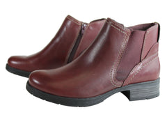 Planet Shoes Mirr Womens Leather Chelsea Ankle Boots With Arch Support