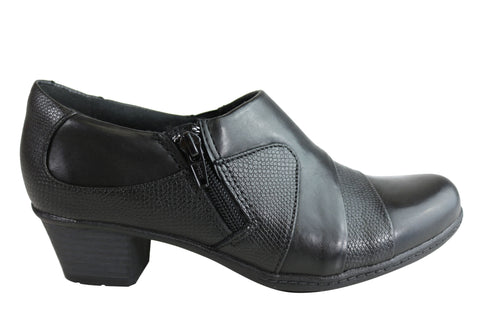 Planet Shoes Thea Womens Comfortable Leather Low Heel Shoes