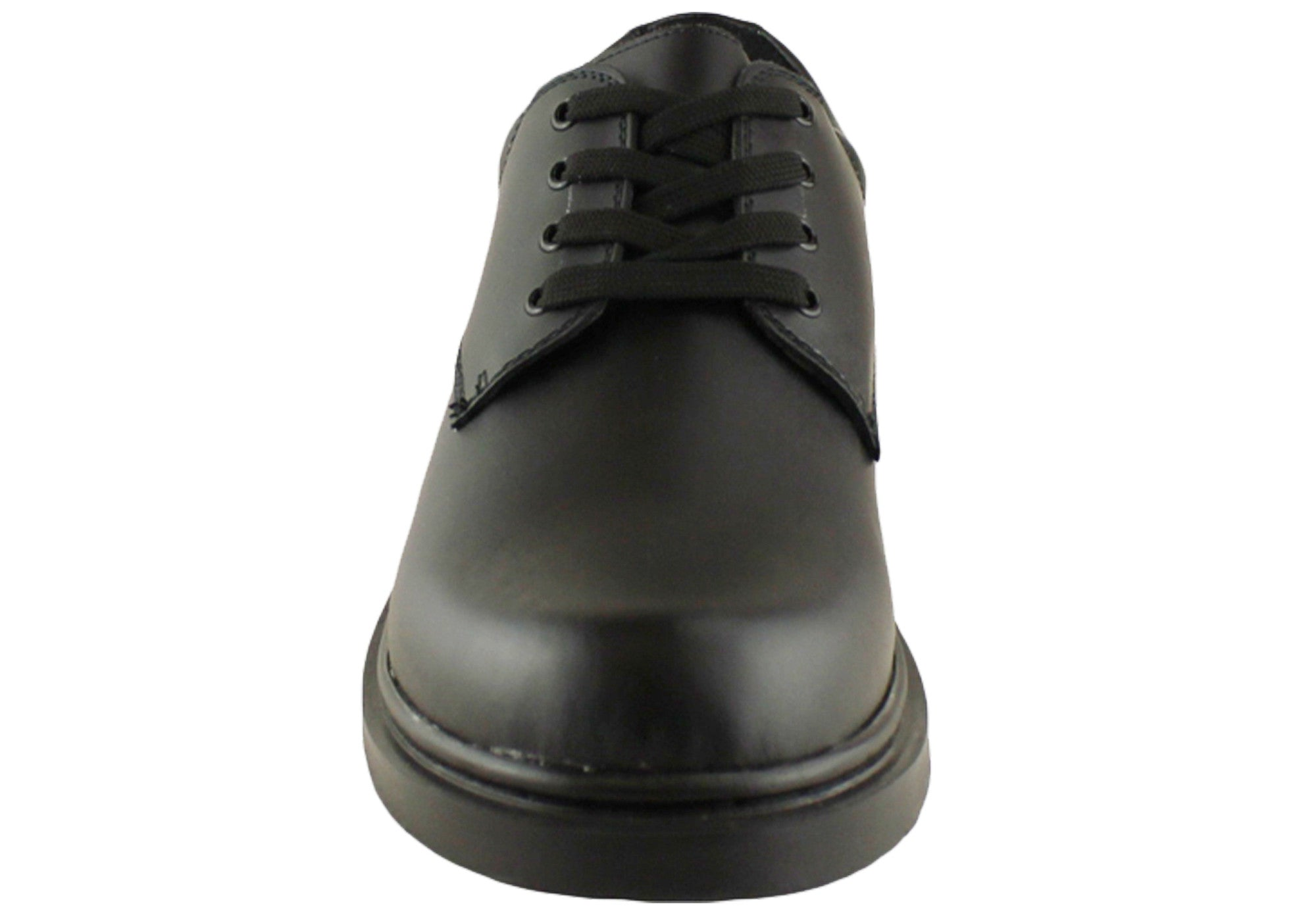Grosby Hamburg Womens Leather Lace Up School Shoes