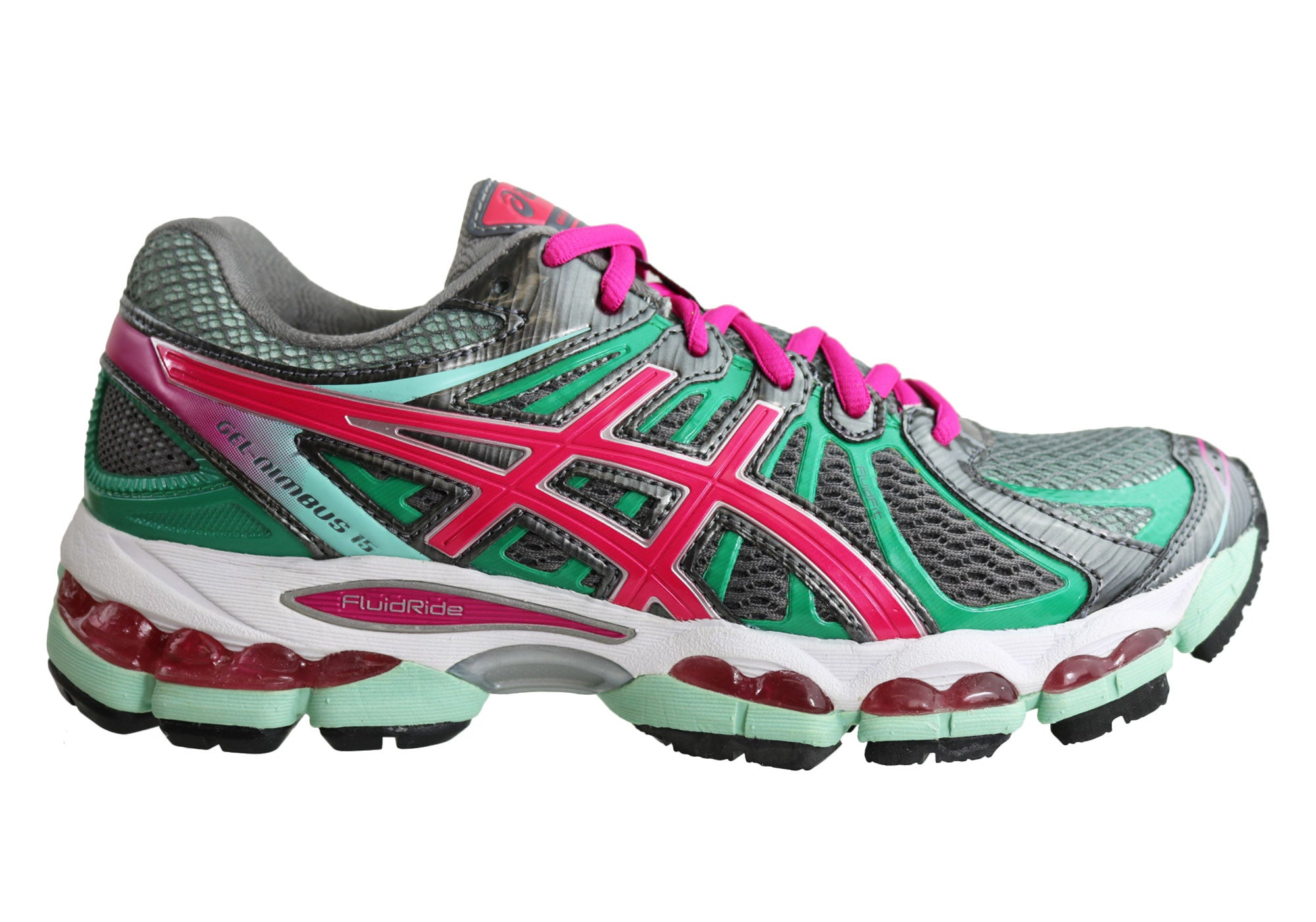 NEW ASICS NIMBUS 15 SPORT WOMENS PREMIUM CUSHION RUNNING SPORT 15 SHOES 1d9b1d