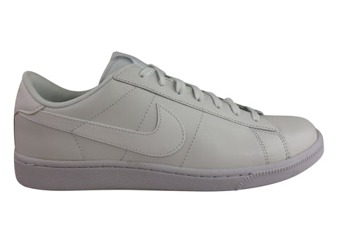 Nike Mens Classic CS Leather Lace Up Casual Shoes