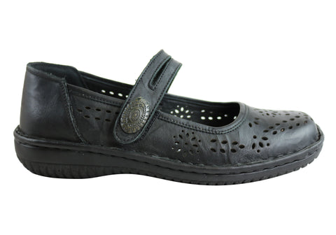 Cabello Comfort 5167-27 Womens Leather Flats Made In Turkey
