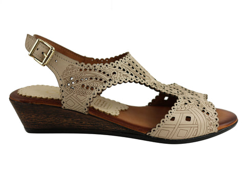 Cabello Comfort IM1560 Womens Sandals Hand Made In Turkey