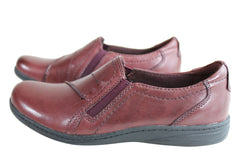 Planet Shoes Jemima Womens Leather Comfort Supportive Cushioned Shoes