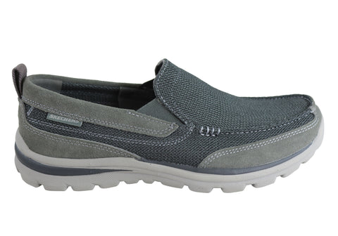 Skechers Superior Milford Mens Slip On Memory Foam Shoes