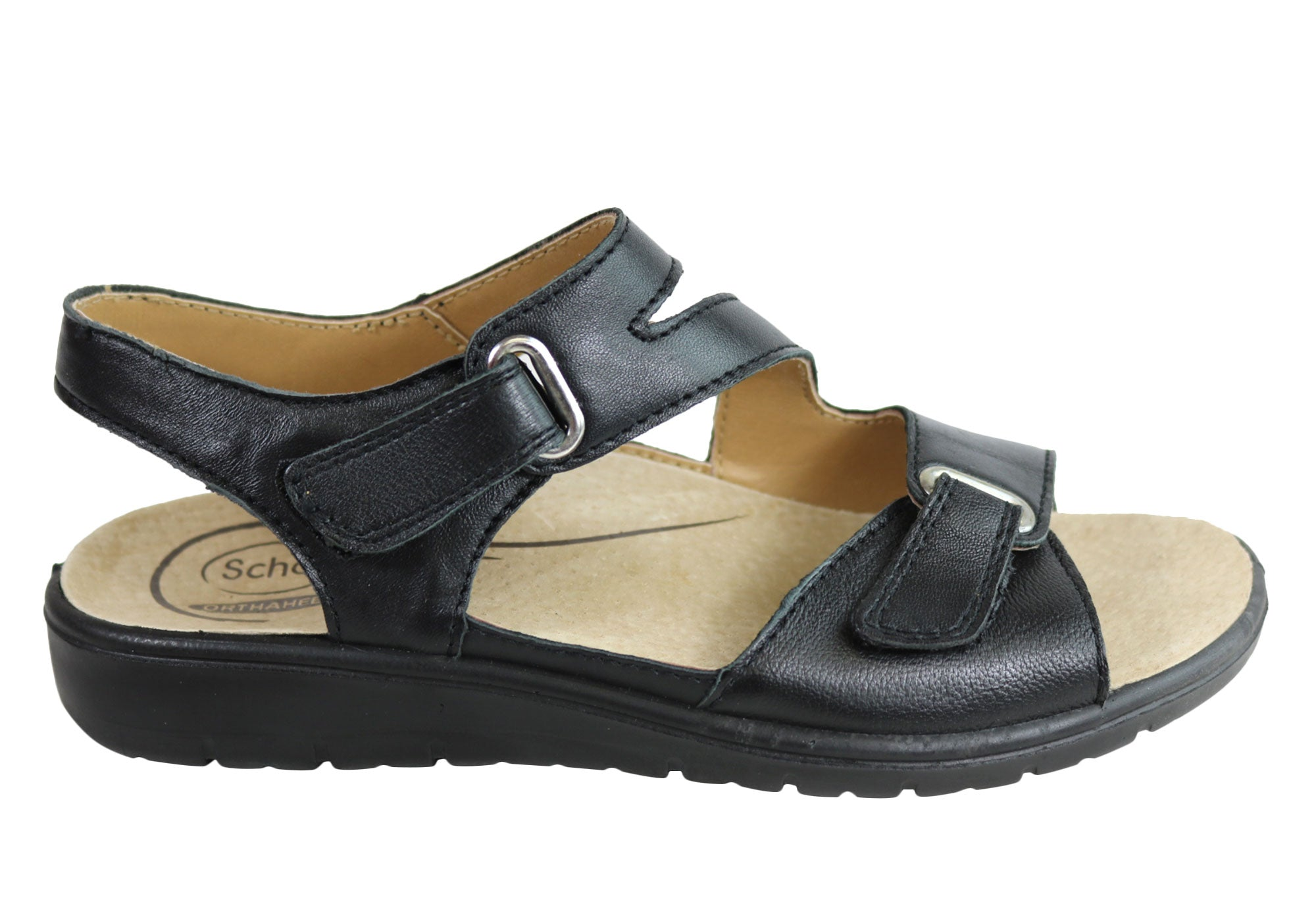 Scholl Orthaheel Acapulco Womens Comfort Orthotic Friendly Sandals ... a24981b4f06