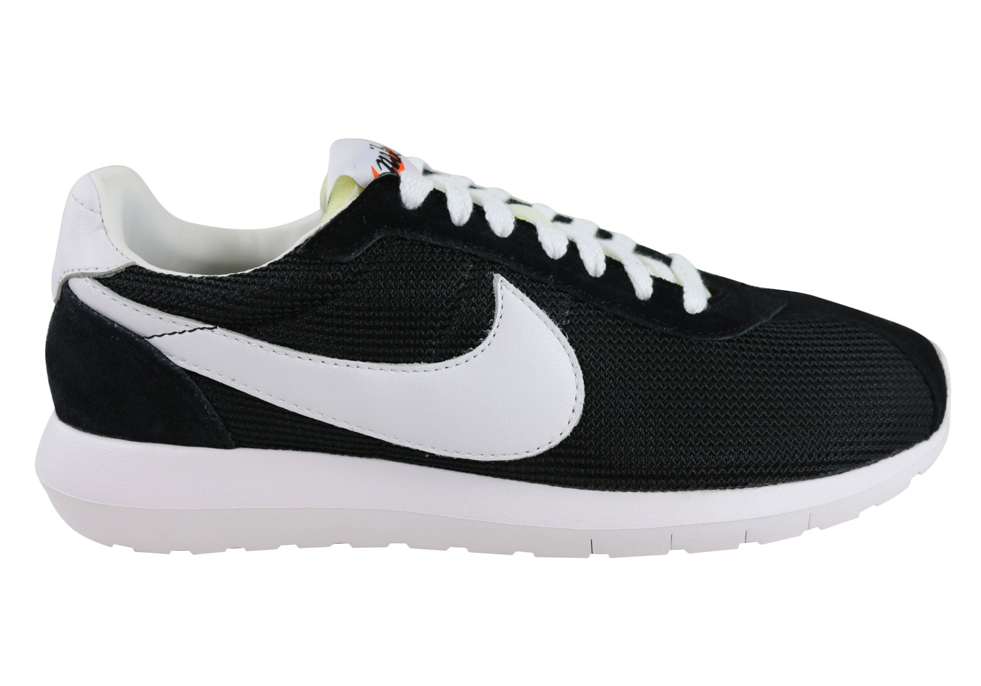 innovative design c05e8 06c0c Home Nike W Roshe LD-1000 QS Mens Lace Up Casual Shoes. Black White ...