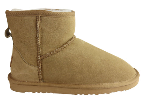 Grosby Jillaroo Ugg Womens Warm Comfort Boots With Sheepskin Lining