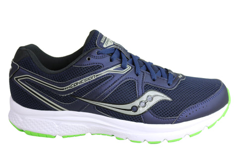 Saucony Mens Cohesion 11 Comfortable Cushioned Athletic Shoes