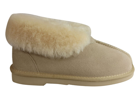 Grosby Princess Ugg Womens Warm Comfy Sheepskin Lining Slipper Boots