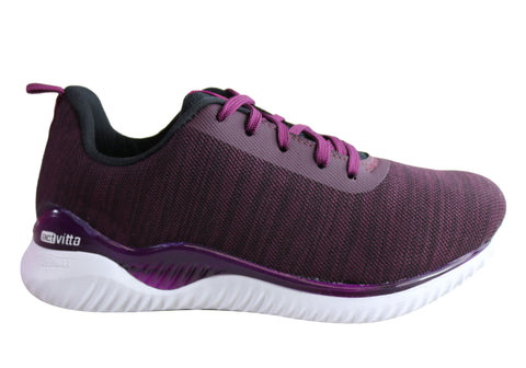 Actvitta Aries Womens Comfortable Cushioned Lace Up Active Shoes